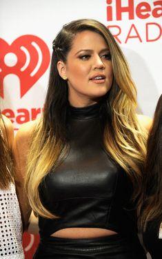 Khloe Kardashian - iHeartRadio Music Festival - Day 2 - Backstage