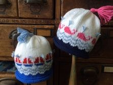 Ravelry: Sails and Whales Baby Cap pattern by Marji LaFreniere Baby Hat Patterns, Knit Patterns, Baby Hats Knitting, Knitted Hats, Ravelry, Crochet Baby, Knit Crochet, Wale, Yarn Shop