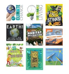 Environmental Books for Children - Non-Fiction - Christchurch City Libraries by KimKids : A selection of non-fiction informational text and how-to guides for kids on related topics around recycling, climate changing, caring for the earth, sustainability, composting and water resources. Includes craft activities. A Christchurch City Libraries List.