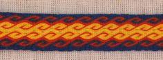 cool tablet weaving pattern