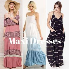 Maxi dresses for long weekend! @classicpaperdoll #cpdfave #maxidresses #bbqoutfits #ootd #memorialweekend #longweekend