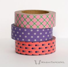 Save 20% on our Washi Tape Spring Colors Set | WashiTapesNL www.WashiTapes.nl