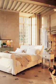 Bedroom Designs, Beautiful Architecture Bedroom With Marble Tile: Modern Classic and Country Style Bedrooms