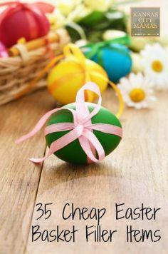 35 Cheap Easter Basket Filler Items (that aren't candy) | KansasCityMamas.com
