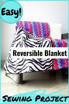 How to Make Fleece Blankets, Easy Sewing Project - Sew Crafty Me