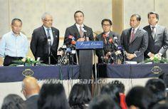 lamiafamilia (MY FAMILY): MH370 - Penemuan 2 kapal SAR beri harapan