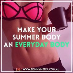Make your summer body an everyday body ✔️ Cleanse  nourish your body from the inside out with an all natural SkinnyMe teatox: www.skinnymetea.com.au