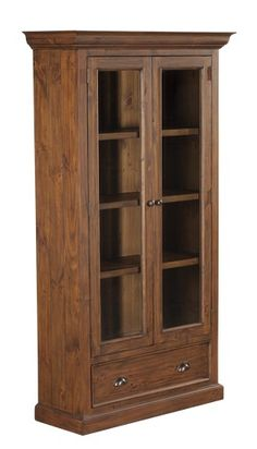 Colonial Display Cabinet (800W X 380D X 1800H Mm) RRP $998