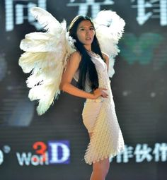 3D printed fashions hit the runway at 3D printing World Conference in China