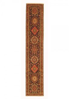 Karaja Woven: Hand Knotted Size: 2'8″ X 13'2″