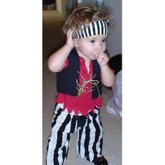 the Littlest Pirate Halloween Costume