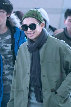 Rap Monster❤ BTS At Incheon Airport Heading To Chile (170309) #BTS #방탄소년단
