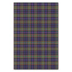 Clan MacLellan Tartan Tissue Paper