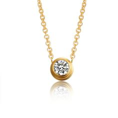 Find More Pendant Necklaces Information about Hot Sale Fashion Women Crystal Jewelry Necklaces & Pendants  Gold Plated Stainless Steel Necklace with AAA CZ Stone Wholesale,High Quality necklace necklace,China jewelry wrist Suppliers, Cheap jewelry chain necklace from MSX Fashion Jewelry on Aliexpress.com