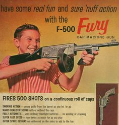 So you had a cap gun when you were a kid? Well guess what. That  wasn't a cap gun—THIS Is A Cap Gun!