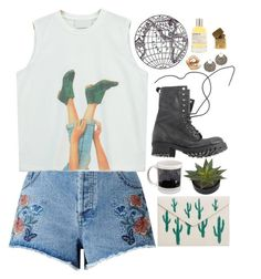"""""""Nothing Again"""" by taryn-ash ❤ liked on Polyvore featuring Miss Selfridge, Chicnova Fashion, Jeffrey Campbell, MANGO, ASOS, Le Labo and In God We Trust"""