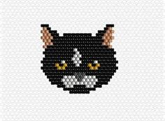Image result for animaux en perles brick stitch