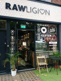 Rawligion, London, UK #Organic #vegan #rawfood #smoothies #glutenfree