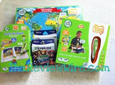 LeapFrog Products: LeapPad Explorer,LeapSchool Reading cartridge game,Tag Reading System, Tag Interactive World Map and Tag Learn to Read Series 1 #REVIEW