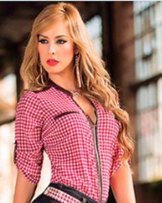 Tu toque, tu estilo, solo tu!  Blusa para dama a cuadros encuentrala en tallas S/XL  Ref:334 Precio:$55.000  https://www.facebook.com/pages/Comercializadora-VP/278442002261076