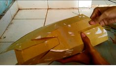 Iron Man Mark VI Left Thigh Cardboard | Part 2 |