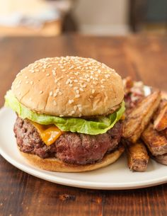 I'll show you how to make juicy, totally tender burgers on the stove top, start to finish. No need to go out - stay in tonight and have a homemade burger!