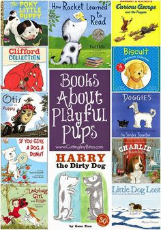 Children's books about dogs.  SO MANY great books in this list full of classics!  Reviews of each.