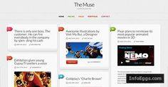 The Muse A Minimalist Inspiration Responsive WordPress Theme