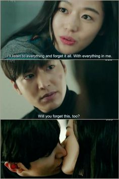 Legend of the Blue Sea  Heo Joon Jae and Shim Cheong  Will you forget this too? Kissing Scene