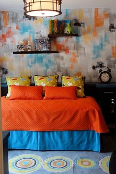 56 best blue and orange living room images in 2019 living room rh pinterest com