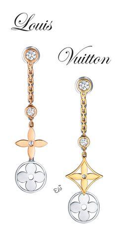 Louis Vuitton Blossom Long Earrings