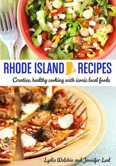 Cooking from my Rhode Island pantry, and a new cookbook (Fun new cookbook from two Rhode Island food bloggers!)