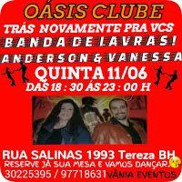 Blog Duchapeu : BAILE  OÁSIS CLUBE - TODA QUINTA - 11 de Junho - B...