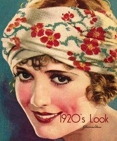 20s make-up tutorial