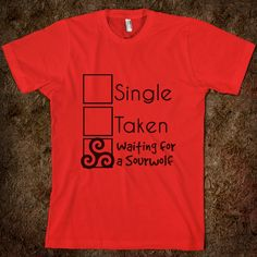 sterek | Single, Taken, Sterek - Sterek Love - Skreened T-shirts, Organic ...