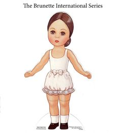 Paper Dolls~The Brunette International - Bonnie Jones - Picasa Albums Web