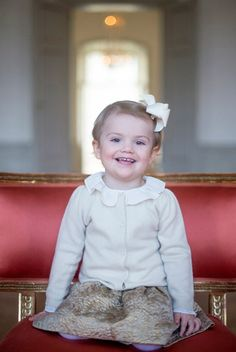 Princess Estelle of Sweden turns two: a gallery of the youngster's sweetest…