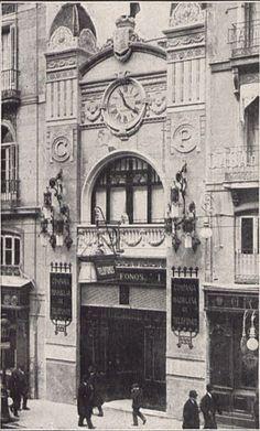 Antiguos cafés de Madrid y otras cosas de la Villa.: LA COMPAÑÍA PENINSULAR DE TELEFONOS DE ALCALÁ, Nº ...