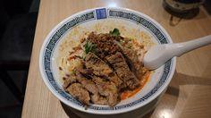 汁なし排骨担々麺(3辛)@希須林 (赤坂見附)