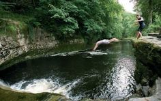 Wild Swim - River, Lake, Lido and Sea: the Best Places to Swim Outdoors in Britain Wild Waters, Cliff Diving, Yorkshire Dales, North Yorkshire, Rock Pools, Swimming Holes, Open Water, The Great Outdoors, Places To See