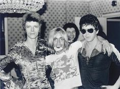 Bowie, Iggy, Reed