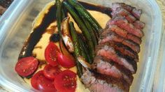 Goat cheese polenta and tri-tip ¦ Friend That Cooks blog    Goat cheese creamy polenta which I served with marinated and seared tri-tip sirloin with balsamic glazed green beans and grape tomatoes. Just one example of the delicious meals we make for busy families on a weekly basis. You could have taken this fantastic dish to work with you today. Friend That Cooks Home Chef Service. Your home, your food, your friend. www.friendthatcooks.com