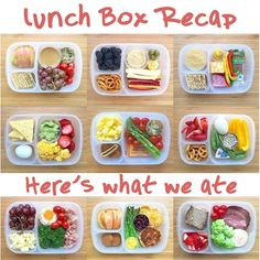 SO many delicious and healthy packed lunch ideas! #easylunchboxes