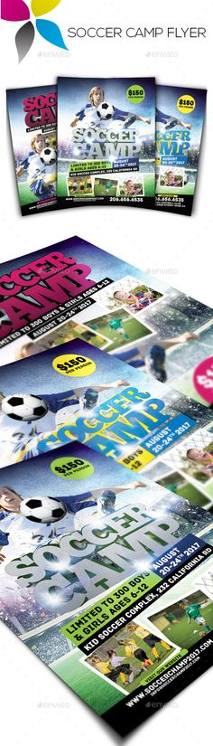 5K Run Flyer and Poster Templates Template, Psd templates and - soccer flyer template