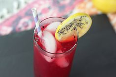 Blackberry Lavender Lemonade - Gluten-free, Vegan + Refined Sugar-free by Tasty Yummies, via Flickr