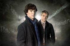 """Am liebsten mag ich den modernen """"Sherlock"""". Das ist die Neuauflage der berühmten Krimi-Serie und spielt im London des 21. Jahrhunderts. Der Transport der Geschichten ins Jetzt ist sehr gut geglückt! Ich mag die charmanten und spannenden Dialoge und die vielen Anspielungen auf die Bücher. Auch die Besetzung ist exzellent – z.B. Benedict Cumberbatch als Sherlock. Allerdings nur im englischen Original! Die deutsche Version ist längst nicht so überzeugend. Marina (24)"""
