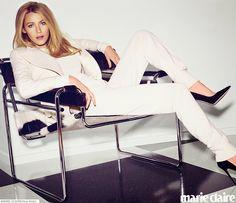 Fantasy Fashion Design: Blake Lively  estrella de la portada de Marie Clai...