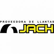 Llantas JACH Logo. Get this logo in Vector format from https://logovectors.net/llantas-jach/