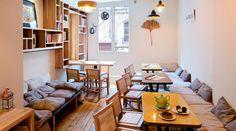 Projet de bar bio équitable à Paris