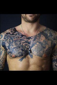 les 18 meilleures images du tableau tatouage japonais bras homme sur pinterest. Black Bedroom Furniture Sets. Home Design Ideas